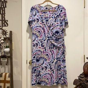 XL Faux wrap dress